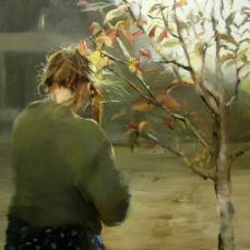 Luz de otoño, 81x100cm, óleo sobre lienzo