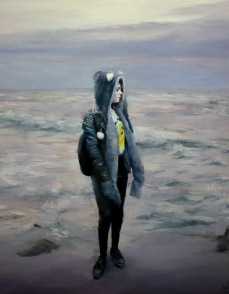 London dream, 146x114cm, óleo sobre lienzo