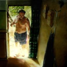 El capricho de Vicente, 180x180cm, óleo sobre lienzo