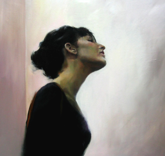 Arco, 100x100cm, óleo sobre lienzo