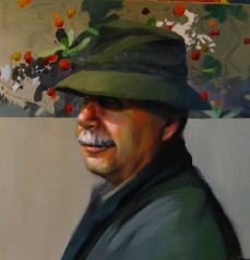 Vicente, 50x50cm, óleo sobre lienzo